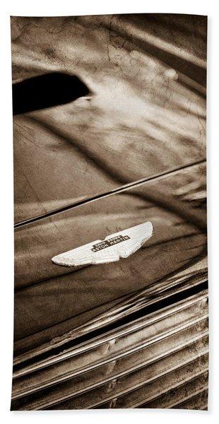 1967 Aston Martin Db6 Coupe Hood Emblem Hand Towel
