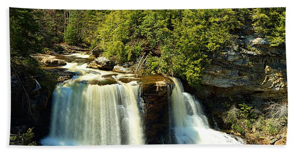 Blackwater Falls Bath Towel