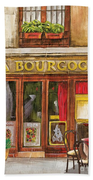 French Storefront 1 Bath Towel
