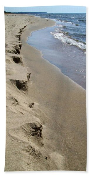 Lake Michigan Shoreline Bath Towel