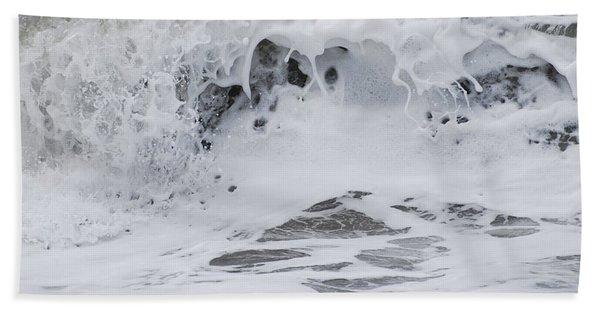 Seafoam Wave Hand Towel