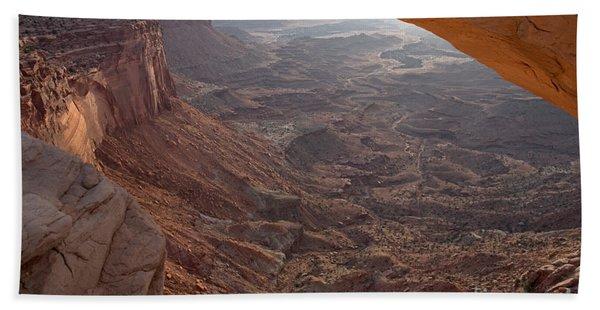 Sunrise Mesa Arch Canyonlands National Park Hand Towel