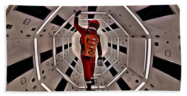 2001 A Space Odyssey Hand Towel