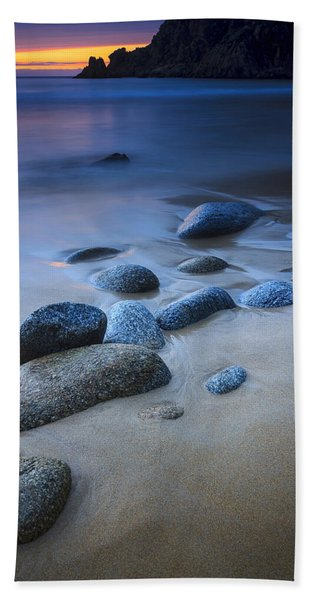 Campelo Beach Galicia Spain Bath Towel
