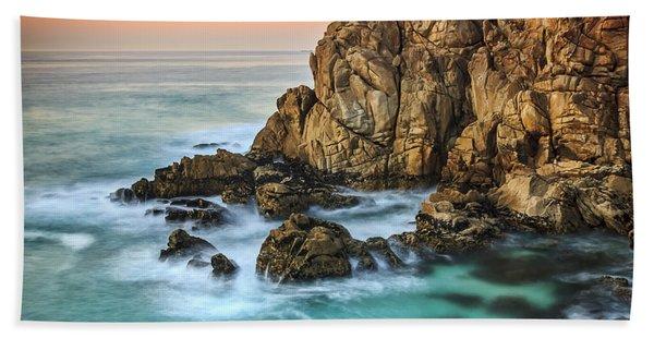 Penencia Point Galicia Spain Bath Towel