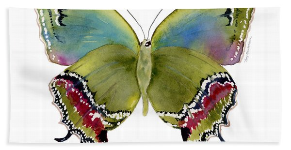 46 Evenus Teresina Butterfly Hand Towel