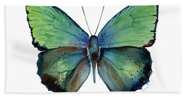 52 Arhopala Aurea Butterfly Bath Towel