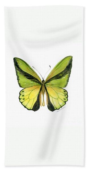 8 Goliath Birdwing Butterfly Bath Towel