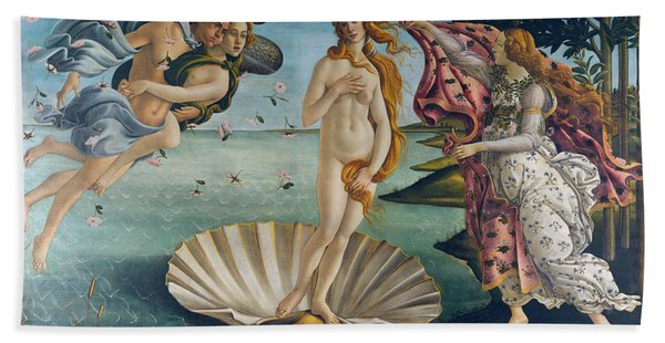 The Birth Of Venus Bath Towel