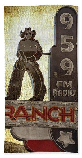 95.9 The Ranch Bath Towel