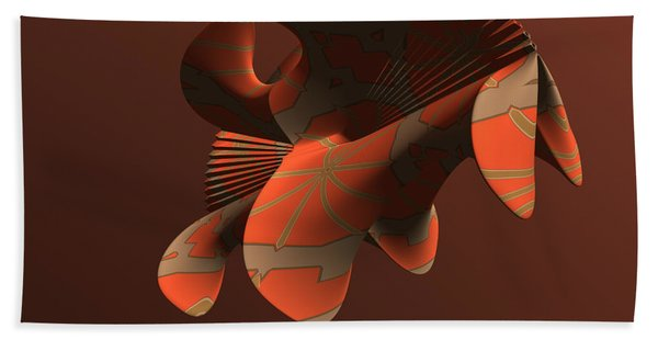 Abstract 351 Hand Towel