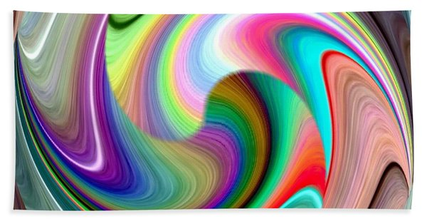 Abstract Fusion 241 Hand Towel