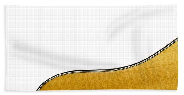 Acoustic Curve Bath Towel