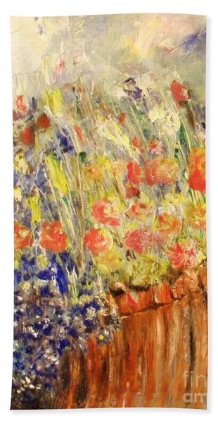 Adirondack Floral Hand Towel