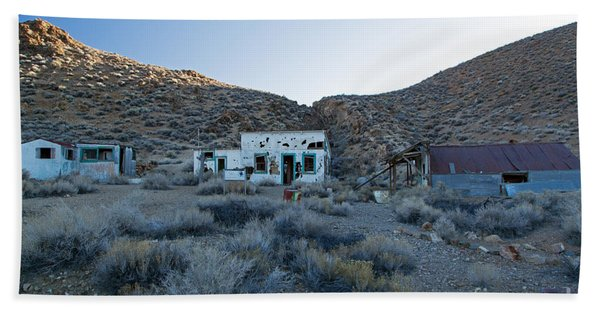 Aguereberry Camp Death Valley National Park Hand Towel