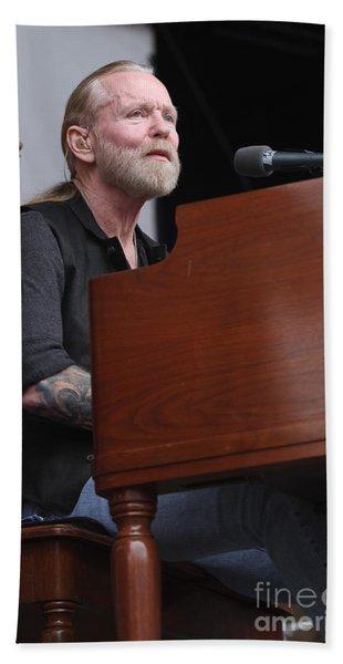 Allman Brothers Band - Gregg Allman Hand Towel