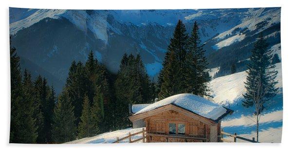 Alpine View Hand Towel