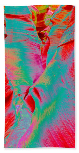 Antelope Canyon Abstract Bath Towel