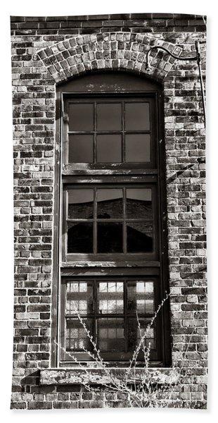 Antique Factory Window Hand Towel