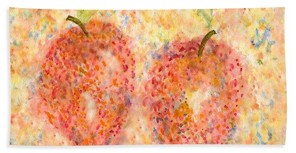 Apple Twins Hand Towel