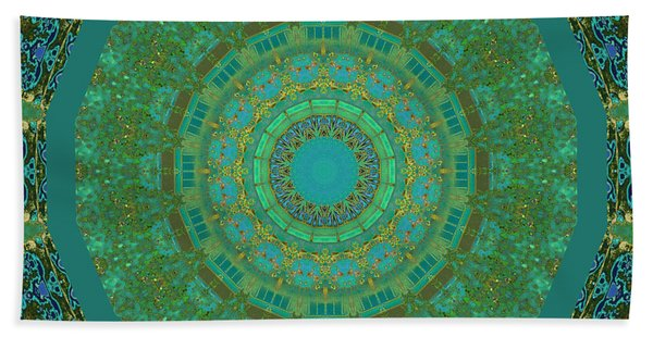 Aqua House 5  Hand Towel