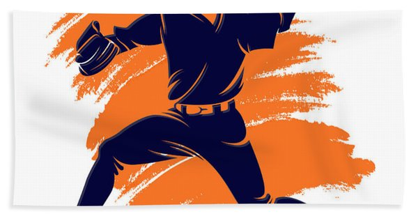 Astros Shadow Player2 Hand Towel