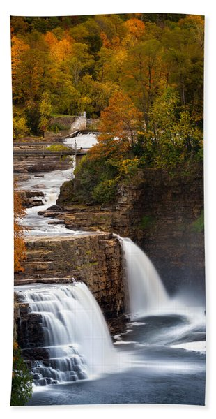 Ausable Chasm Hand Towel