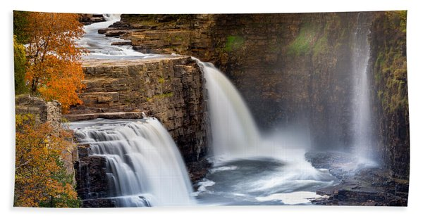 Ausable Chasm Waterfall Hand Towel