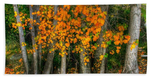 Autumn Breakout No.2 Hand Towel