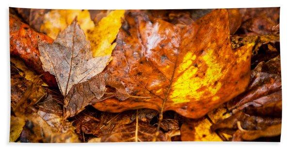 Autumn Pile Hand Towel