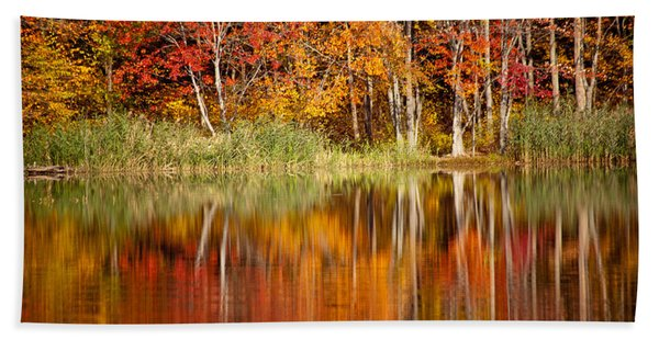 Autumns True Colors Bath Towel