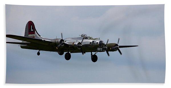 B-17 Yankee Lady Bath Towel