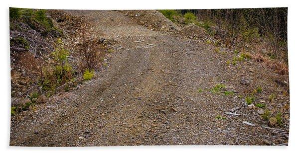 4x4 Logging Road To Adventure Hand Towel