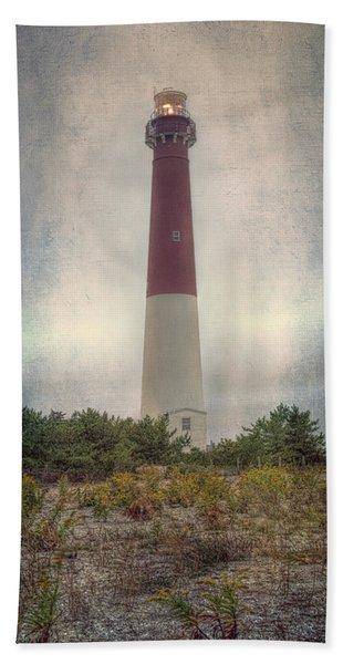 Barnegat Lighthouse Dawn Bath Towel