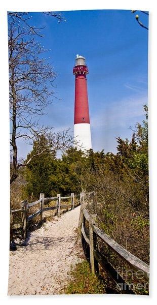 Barnegat Lighthouse II Bath Towel