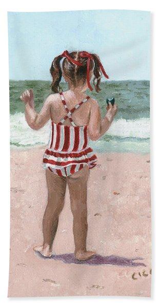 Beach Buns Hand Towel
