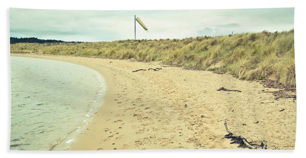 Beach In Scotland Bath Towel