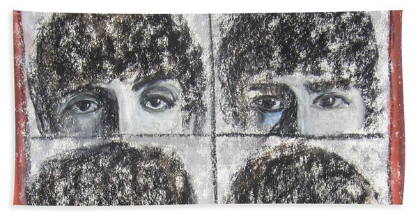 Beatles Hard Day's Night Hand Towel