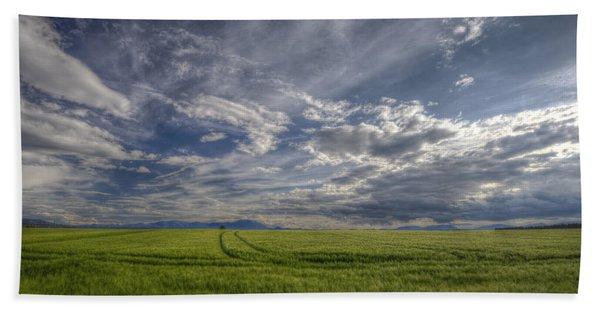 Beautiful Countryside Hand Towel