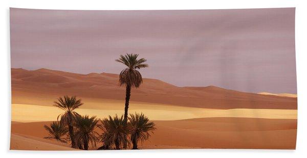 Beautiful Desert Hand Towel