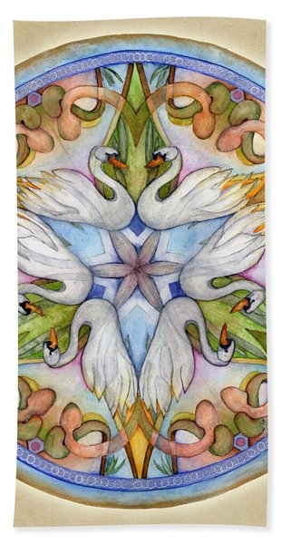Beloved Mandala Hand Towel