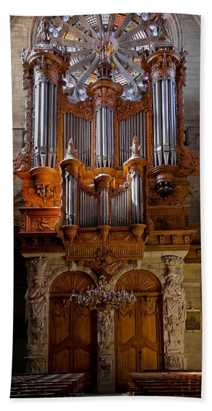 Beziers Pipe Organ Hand Towel