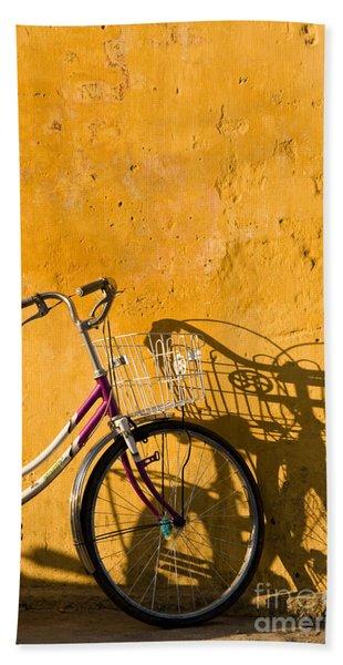 Bicycle 07 Bath Towel