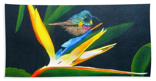 Bird Of Paradise Hand Towel