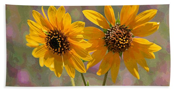 Black-eyed Susan Hand Towel