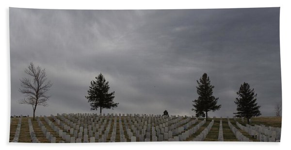 Black Hills Cemetery Hand Towel