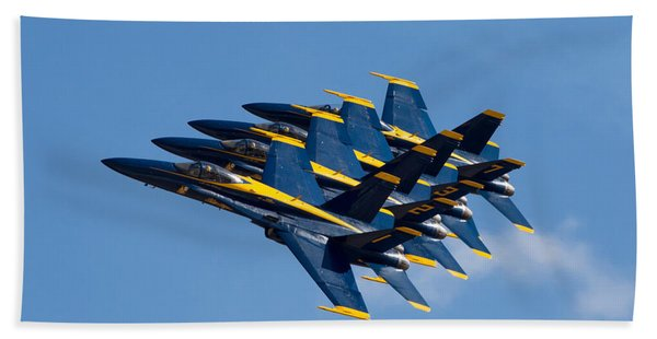 Blue Angels Echelon Bath Towel