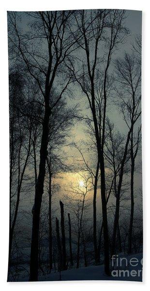 Blue Daybreak Bath Towel