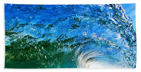 Blue Tube Hand Towel