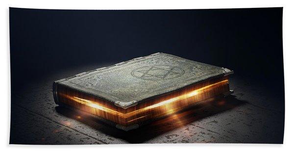 Book With Magic Powers Bath Towel